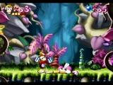 Rayman SEGA Saturn Boss Mosquito defeated now onto the next level