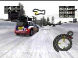 RalliSport Challenge Xbox Ice course overtaking car