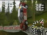 RalliSport Challenge Xbox Taking the corner wide and REALLY high