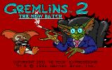 Gremlins 2: The New Batch DOS Title