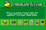 Lemonade Tycoon iPhone The title screen also gives you an inspiring quote