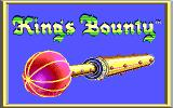 King's Bounty DOS Title Screen (EGA)