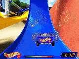 Hot Wheels: Stunt Track Driver Windows Successful landing after stunt electrifies car with more time/performance