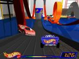 Hot Wheels: Stunt Track Driver Windows Some obstacles are stationary on track headed for finish