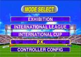Goal Storm '97 PlayStation Mode Select
