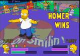 The Simpsons Wrestling PlayStation Homer Wins