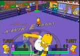 The Simpsons Wrestling PlayStation Second Round
