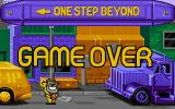 One Step Beyond DOS Game Over