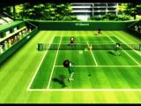 Wii Sports Wii Power serve with ball ghost trail
