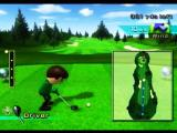 Wii Sports Wii First hole ready with driver