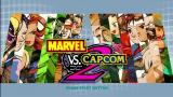 Marvel vs. Capcom 2 Xbox 360 Title screen