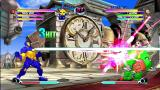 Marvel vs. Capcom 2 Xbox 360 Clock tower stage at day.