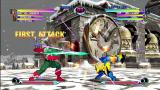 Marvel vs. Capcom 2 Xbox 360 Different, snowy version of the stage.