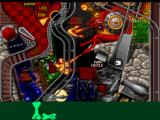 Extreme Pinball PlayStation Medieval Knights - Lair hole