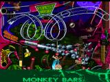 Extreme Pinball PlayStation Monkey Mayhem middle