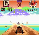 Wacky Races Game Boy Color Worse Dastardly trying to block me