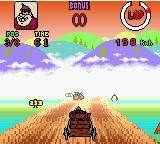 Wacky Races Game Boy Color Take that thunder storm, you fools!