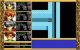 Ki PC-98 Typical dungeon with several ways