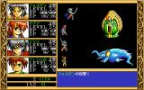 Ki PC-98 Weird enemies. Vossgen's physical attack in progress
