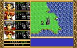Ki PC-98 Beautiful tower on the world map