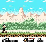 Looney Tunes Game Boy Color Starting location