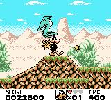 Looney Tunes Game Boy Color I grabbed a POW! that allows me to kill enemies without them hurting me.