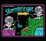 Stormbringer MSX Loading screen