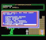 Stormbringer MSX Hmm. I wonder what this spell does?