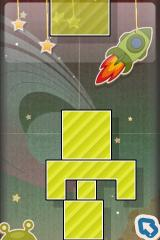 Finger Physics iPhone Another build a stable structure level - still fairly easy to solve.