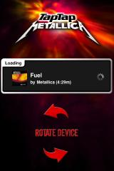 Tap Tap Revenge: Metallica iPhone Loading Screen