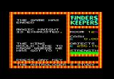 Finders Keepers Amstrad CPC I died of exhaustion.
