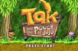 Tak and the Power of Juju Game Boy Advance Title screen