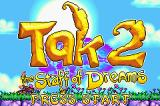 Tak 2: The Staff of Dreams Game Boy Advance Title screen