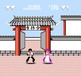 Fūun Shaolin Ken NES The shadows on the grounds makes it look like they're levitating
