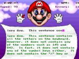 Mario Teaches Typing 2 Windows The Timed Evaluation test your general ability to type, without distractions and within a limited time. It will adapt the challenge depending on your performance.