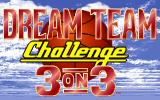 The Dream Team: 3 on 3 Challenge DOS Title screen