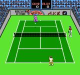 Rad Racket: Deluxe Tennis II NES The balls in your court