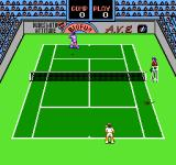 Rad Racket: Deluxe Tennis II NES There appears to be a mouse on the court