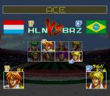 Hat Trick Hero 2 SNES Select your ace player