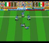 Hat Trick Hero 2 SNES After each goal, the players perform a little dance
