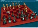 Chessmaster 10th Edition Windows Play mode, 3D board & piece set (Anna metal), with hidden windows