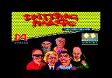 Spitting Image: The Computer Game Amstrad CPC Title screen