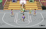 The Dream Team: 3 on 3 Challenge Commodore 64 Playing 3 on 3 in an outdoor court.