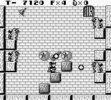 Solomon's Club Game Boy Level 1 room 5, shooting gargoyles