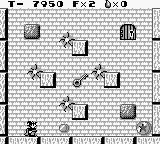 Solomon's Club Game Boy Level 1 room 6, moving sparks like in Donkey Kong Jr.