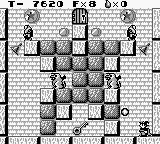 Solomon's Club Game Boy Level 1 room 10, press up and B to use item, I just shot a fire ball
