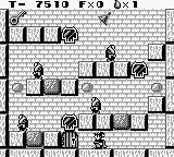 Solomon's Club Game Boy Level 2 room 1, the key is way up there