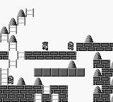 Hyper Lode Runner Game Boy Level 4