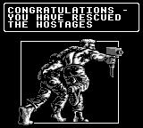 Navy Seals Game Boy Level 2 completed, even though there aren't any hostages in the level