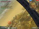 Battlefield 2: Booster Pack - Euro Force Windows TarabaQuarry-Lost the Mig-29 for a second then spot him running for home (red circle) team mate F15 pilot slides behind him easy missile shot kill